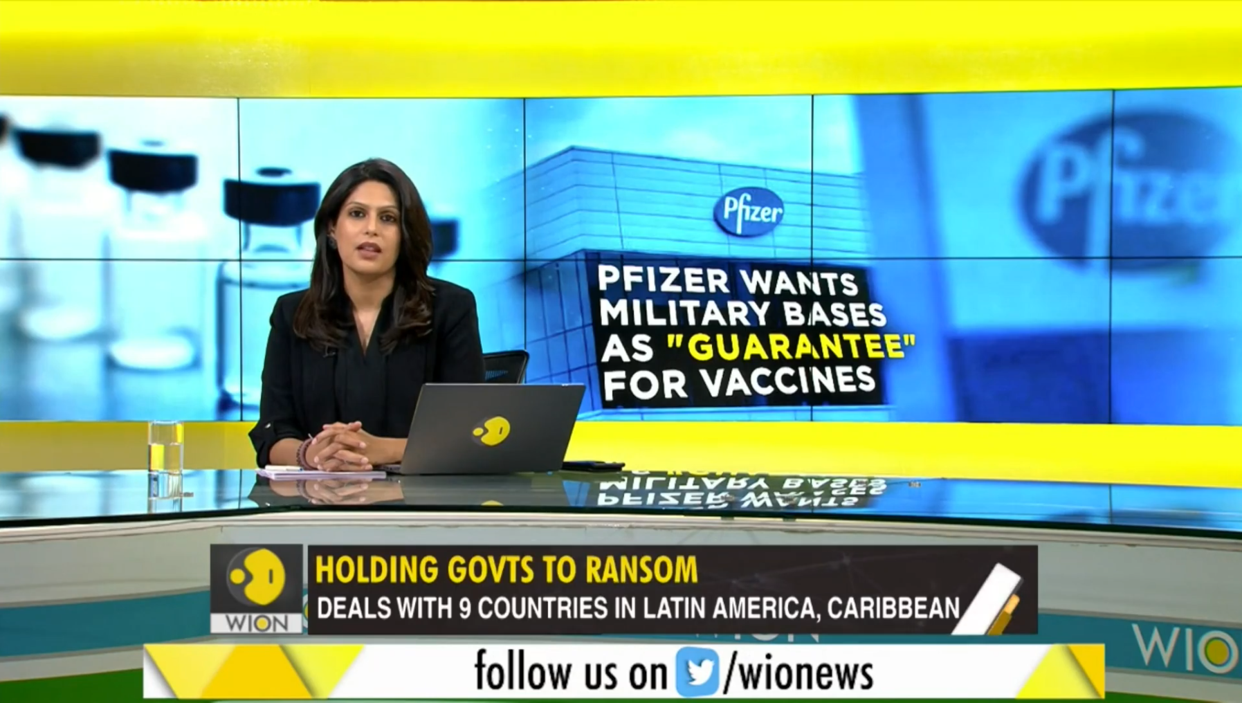 Pfizer Reportedly Asking for Military Bases, Sovereign Assets As Collateral